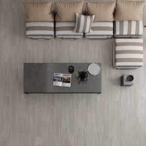 Carrelage parquet Bavaro gris 22,5x90 cm