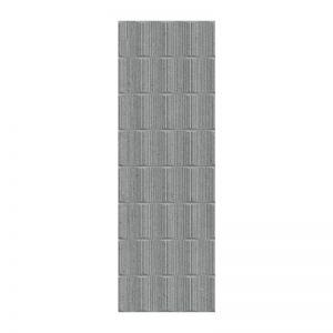 Carrelage Elven Granite anthracite 25x75 cm pour mur
