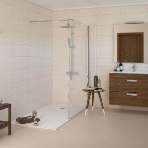 Carrelage Limestone crème 45x45 cm pour sol