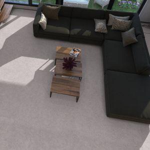 Carrelage Granite gris antidérapant 60x60 cm pour sol